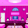Cool pink room escape